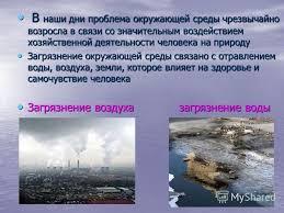 Загрязнение Окружающей Среды Реферат Загрязнение Окружающей Среды