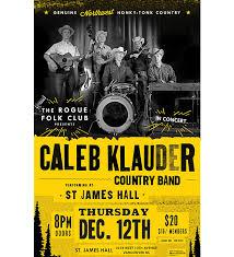 Concert Poster Design Caleb Klauder Tour Poster Music Poster Design By M80 Design