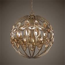 chandelier outstanding crystal orb chandelier restoration