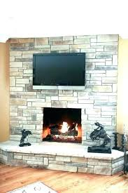 white stacked stone fireplace stack fireplaces ledge dry quartzite veneer white stacked stone fireplace