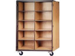 cubby storage cabinet 10 adj shelves locking doors 72