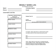 hour log template hours log template sample daily volunteer hour tracker tax expense