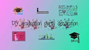 Graduation Decorations Diy Graduation Party Decorations Nakedlydressed