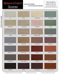 Beautiful Integral Concrete Coloring Options Available From
