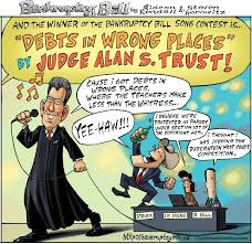 Judge Alan Trust wins Bankruptcy Bill Bankruptcy Song Contest
