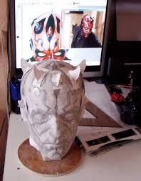 darth maul head cast low budget self original