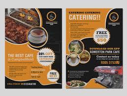 Unique Catering Flyer Template Menu Design Pinterest Flyer