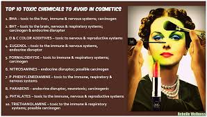 10 cosmetic toxins to avoid