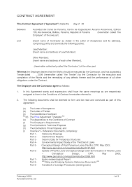 Sample Letter Of Agreement 24 New Contract Letter Sample Agreement Pictures Complete Letter 19