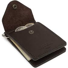 slim minimalist wallet bifold money clip thin leather pocket wallets for men at men s clothing