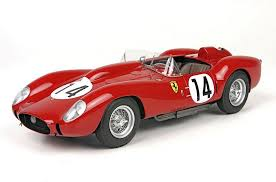 I'd like to say it's an opinion thing, but it simply isn't, it's nearly fact. Bbr Ferrari 250 Testarossa Winner Le Mans 1958 Diecastsociety Com