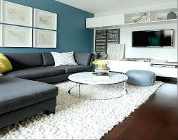 Contemporary Paint Accent Wall In Living Room  Httplanewstalk Accent Colors For Living Room