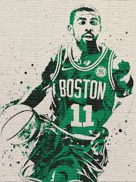 Kyrie Irving Boston Celtics Poster - Fan Art Poster