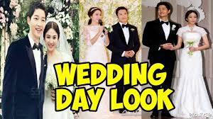 10 korean drama actress brides and their stunning wedding day look