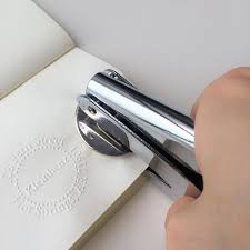 customize logo embossing seals embossing stamp personalized embosser embosser seals