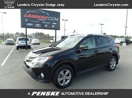 2015 Used Toyota RAV4 AWD 4dr XLE at Landers Chrysler Dodge Jeep ...
