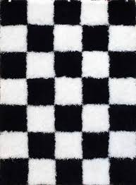 black and white checkerboard rug this is our bliss