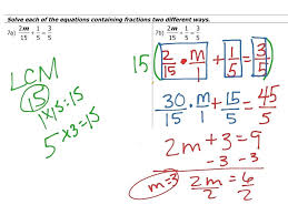 multi step equations with fractions worksheets most viewed thumbnail algebra 1 worksheet