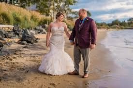 a stroll along the beach at the chesapeake bay beach club by washington dc wedding photographer