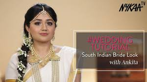 south indian bridal makeup tutorial indian wedding makeup clista nowchic