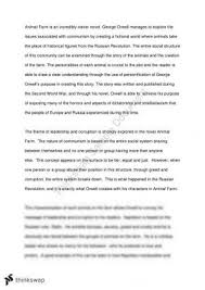 animal farm and v for vendetta comparative study year hsc  animal farm essay