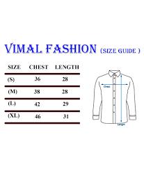 Vimal Fashion 100 Percent Cotton Red Solids Formal Shirt