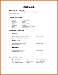 Reference Sample For Resume 100 Reference Sample Resume 25