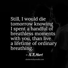 I Love You Because Quotes Awesome 48 Beautiful NR Hart Love Quotes with Images