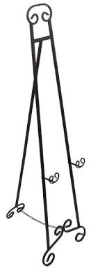 Wrought Iron Art Display Stands Simple Large Wrought Iron Art Stand Display Easel Metal 32AmazonHome