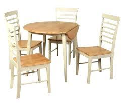drop leaf kitchen table round