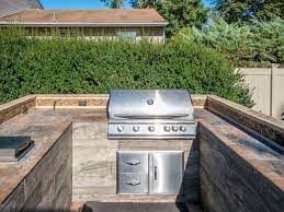 Depending Upon How Much Space How Many Different Appliances You Want In Your Outdoor Cooking Outdoor Kitchen Countertops Kitchen Countertops Outdoor Kitchen