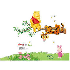 Winnie The Pooh Reward Chart Fange Diy Removable Winnie Pooh And Tigger Wall Decal Kids Room Sticker Vinyl Graphics Art Mural Wall Stickers Nursery Decor Wallpaper 35x32