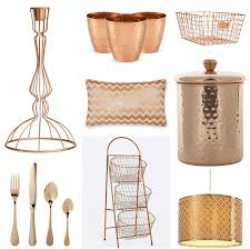 Small Picture Interior Designs with Rose Gold Accessories Decor Topology