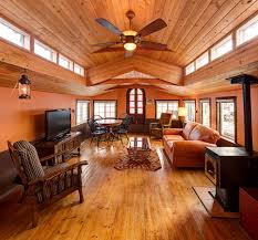 Full Size of Interior: Awesome Covered Exterior Deck Orange Deck Cover  Designs Houseboat Interiors 45