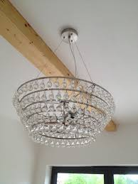 glass orb lighting. white company glass orb chandelier lighting