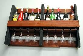wine racks wooden wall mounted wine rack cabinet glass shelf large size of storage