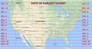 Sun Up Sun Down Chart When Is My Earliest Sunset Astronomy Essentials Earthsky