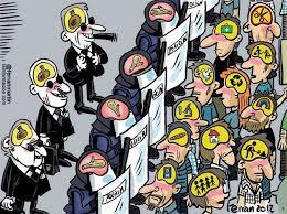 Resultado de imagen de falsa democracia