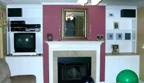 fireplace mantel height with above planning ideas over tv corner design