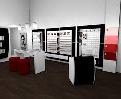 Retail Shop Furniture Design Fashional Optical Shop Design With Retail Display Fixtures