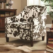 faux cowhide chair chair september