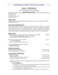 Entry Level Resume Objectives Career Summary As Alternative To