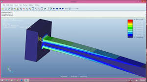 design of cantilever beam and vibration ysis