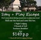 North Carolina Golf - Beau Rivage Golf and Resort - (800) 628-7080