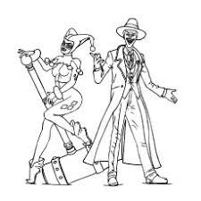 Joker E Harley Quinn Da Colorare Disegni Da Colorare E Stampare