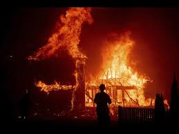 California Fire What Started As A Tiny Brush Fire Became The