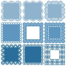 The examples below embed the svg code directly into the html code. Square Frames