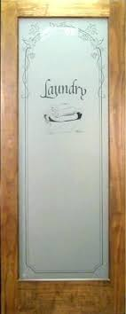 laundry glass door half room rs r has etched in panel shown here a