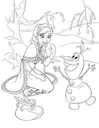 Small Picture Frozen coloring pages anna and olaf ColoringStar