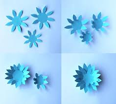 Paper Flower Craft Ideas Paper Flowers Classroom Craft Activity Easy Make Paper